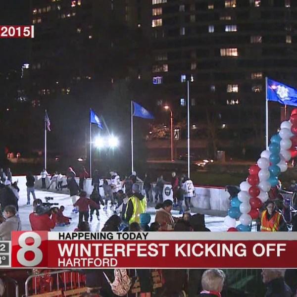 Mayor Bronin kicks off Winterfest in Hartford