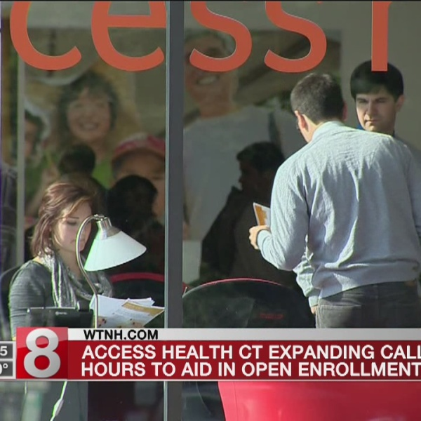 Access Health CT announces extended call center hours trough Dec. 22.