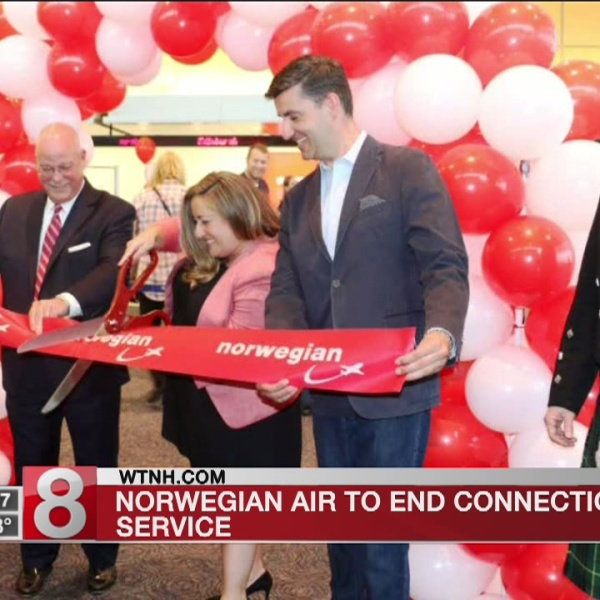 Norwegian Air to end Connecticut service