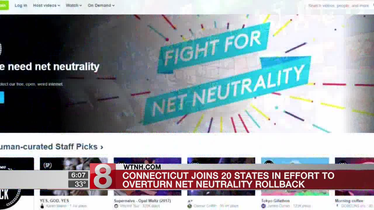 Connecticut joins fight for net neutrality