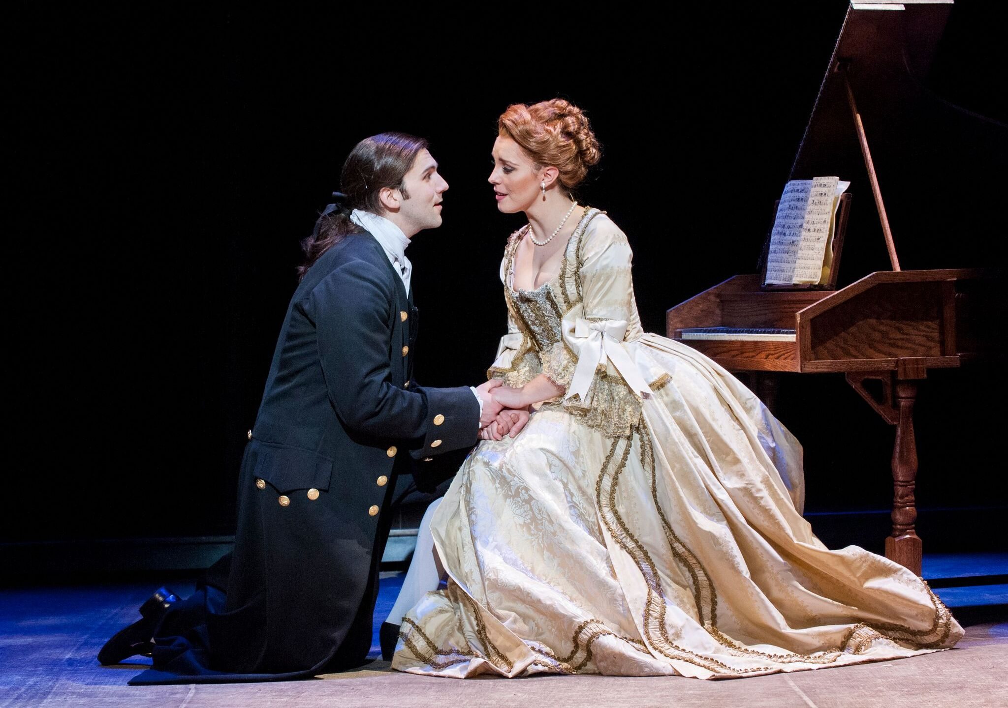 Jacob Shipley as John Newton with Eleanor Todd as Mary Catlett. Photo by Stan Barouh_preview copy_602830