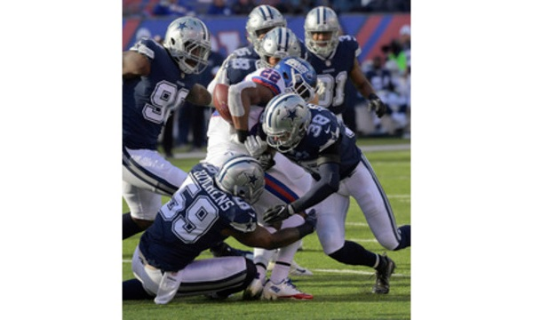 Cowboys Giants Football_585947