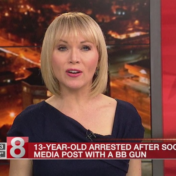 13-year-old arrested after post shows him holding gun
