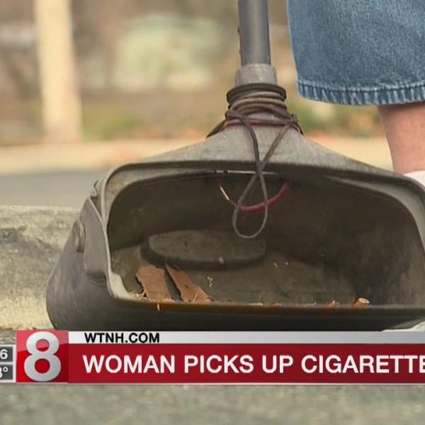 California woman picks up 1 million cigarette butts