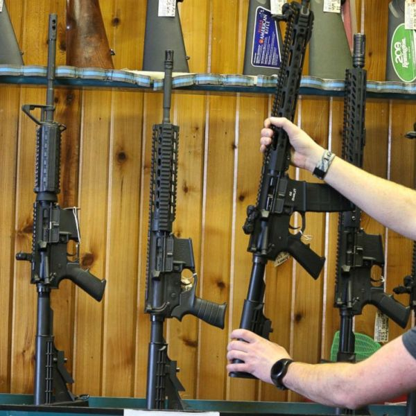 PHOTO_Semi-automatic AR-15s are for sale in this undated file photo._6265469000531