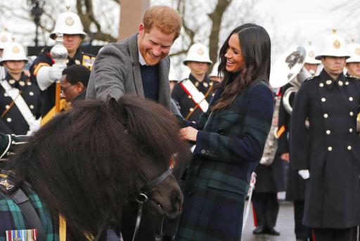 APTOPIX Britain Royals_621515
