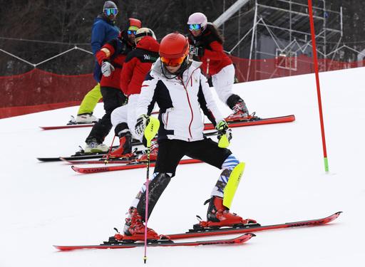 Pyeongchang Olympics Alpine Skiing_622054
