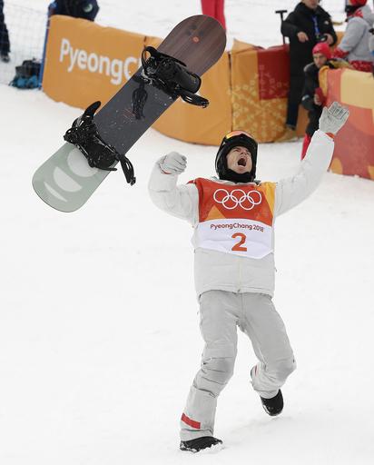 APTOPIX Pyeongchang Olympics Snowboard Men_622078