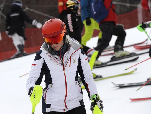 Pyeongchang Olympics Alpine Skiing_623116
