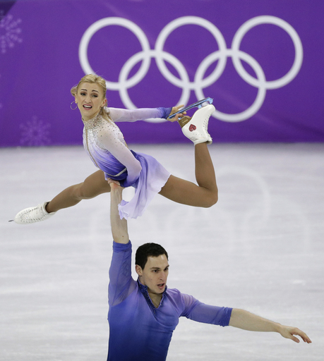 Pyeongchang Olympics Figure Skating Pairs_623055