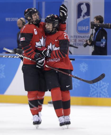 Pyeongchang Olympics Ice Hockey Women_623117