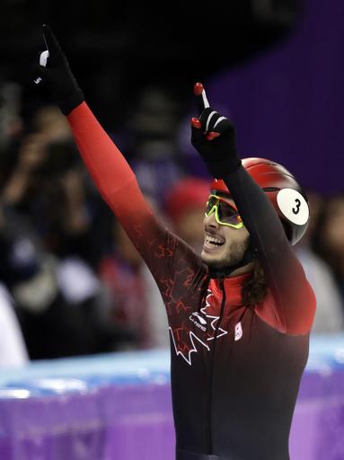 Pyeongchang Olympics Short Track Speed Skating Men_624853