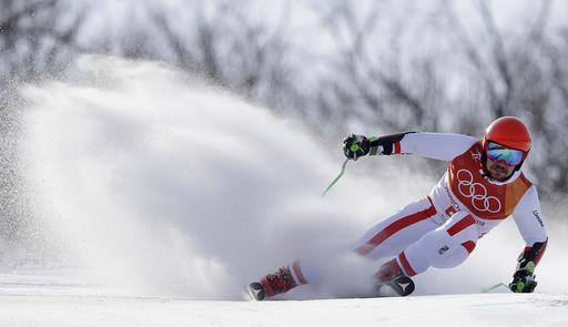 Pyeongchang Olympics Alpine Skiing_625096