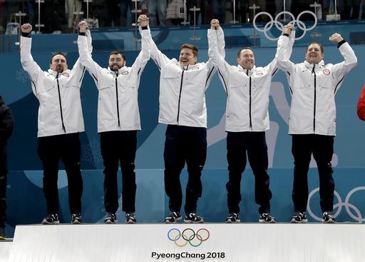 Pyeongchang Olympics Curling Men_631952