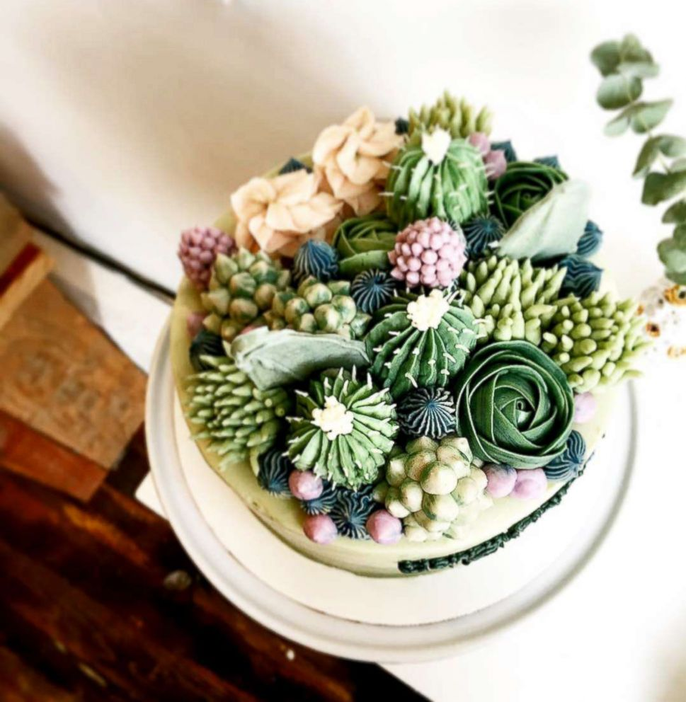 This NYC bakery makes the most Instagram-worthy succulent cakes