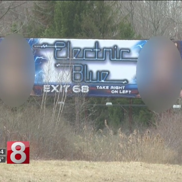 Tolland residents upset over strip club billboard