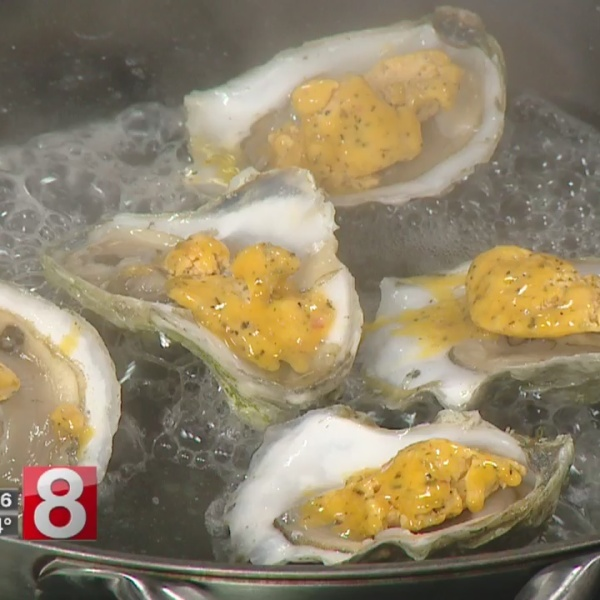 8 Minute Meals: roasted oysters