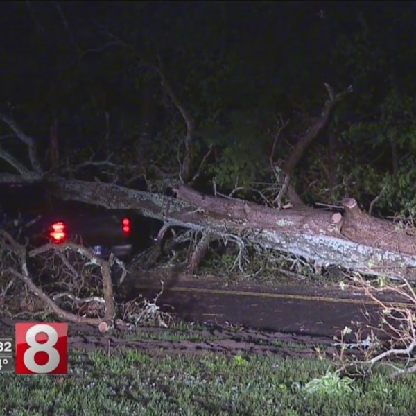 Beacon Falls residents stunned by strength of Tuesday's storm