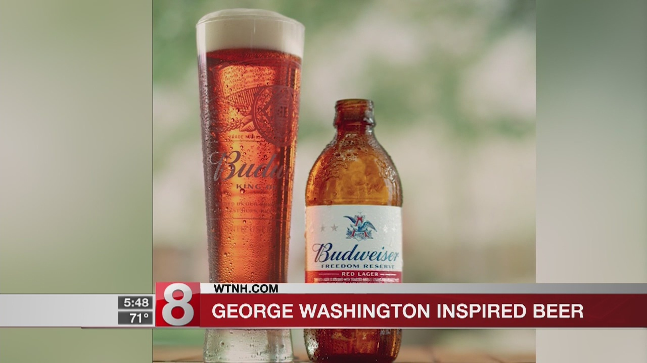 Budweiser brews beer inspired by George Washington