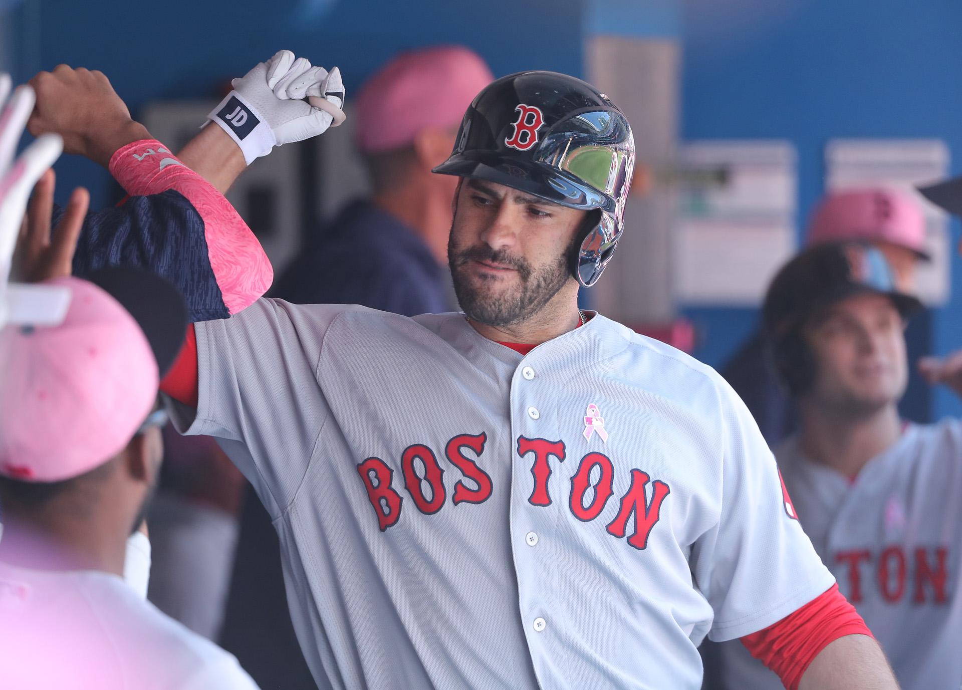 JD Martinez Red Sox Blue Jays
