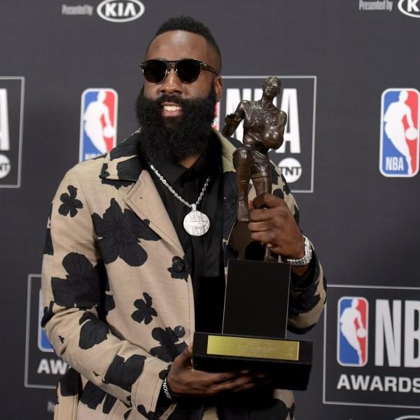 2018 NBA Awards - Press Room_1529987780635