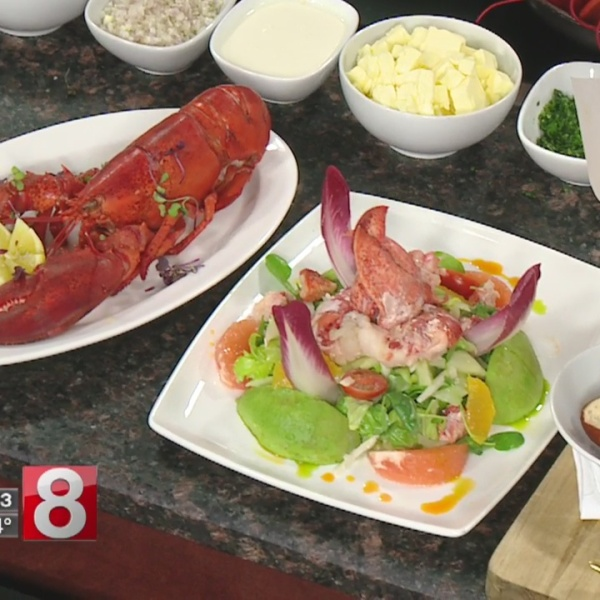 Roasted lobster and aromatic butter for National Lobster Day