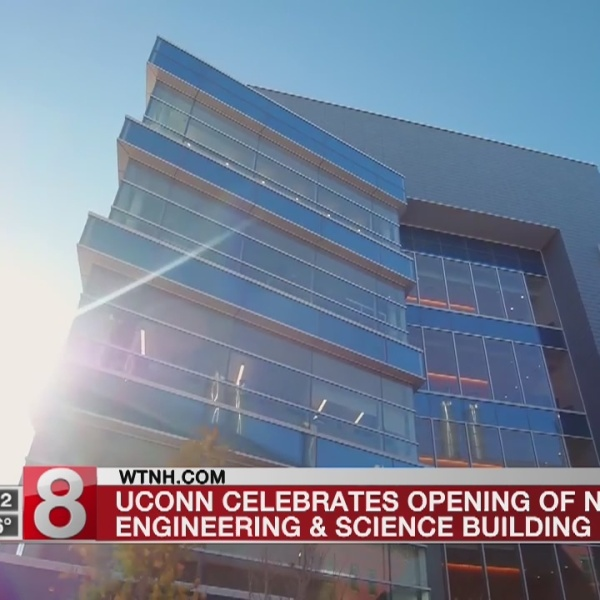 UConn celebrates opening of new science and engineering building