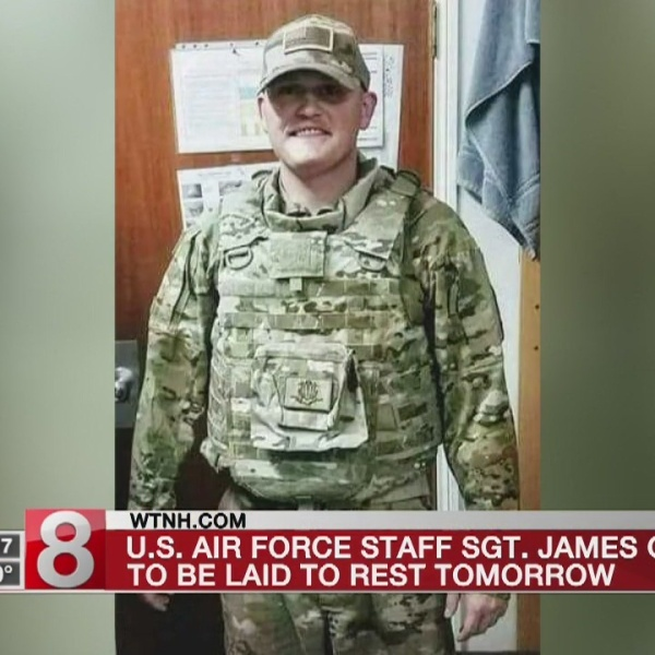 Air Force Staff Sgt. James Grotjan to be laid to rest