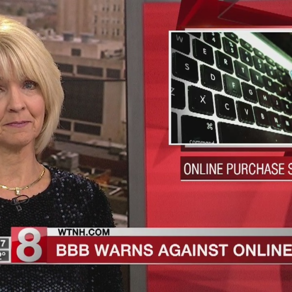 BBB warns of online purchase scams