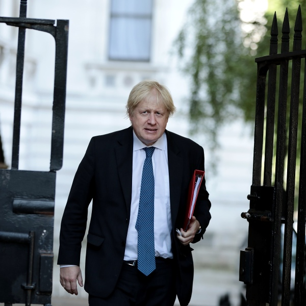 Boris Johnson British Foreign Secretary