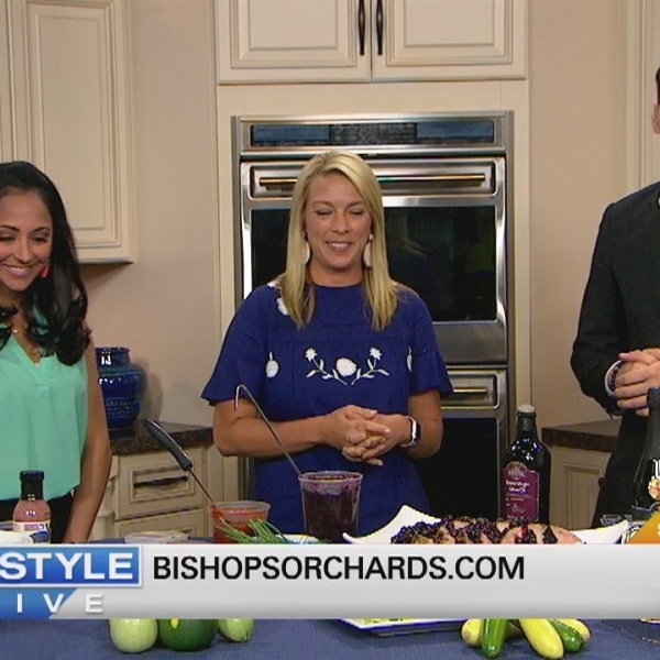In The Bender Kitchen: Bishop's Orchards Farm Market & Winery Tops Food with Blueberries!