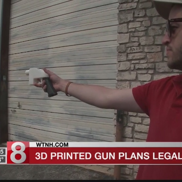 Plans for 3D printed guns to soon go online