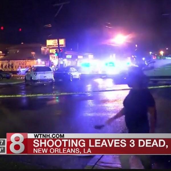 Shooting leaves 3 dead, 7 hurt