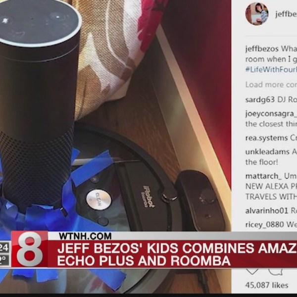 Bezos' kids combine characteristics of Alexa, Roomba