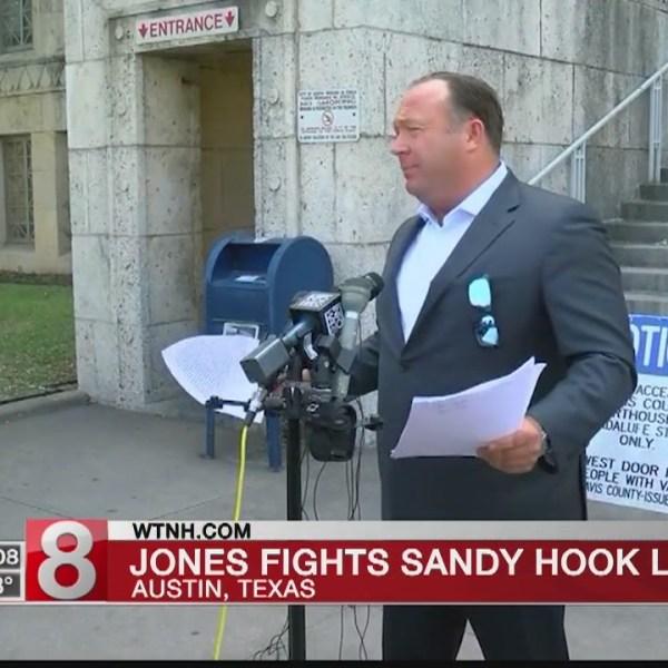 'Infowars' host doesn't attend hearing in Sandy Hook lawsuit