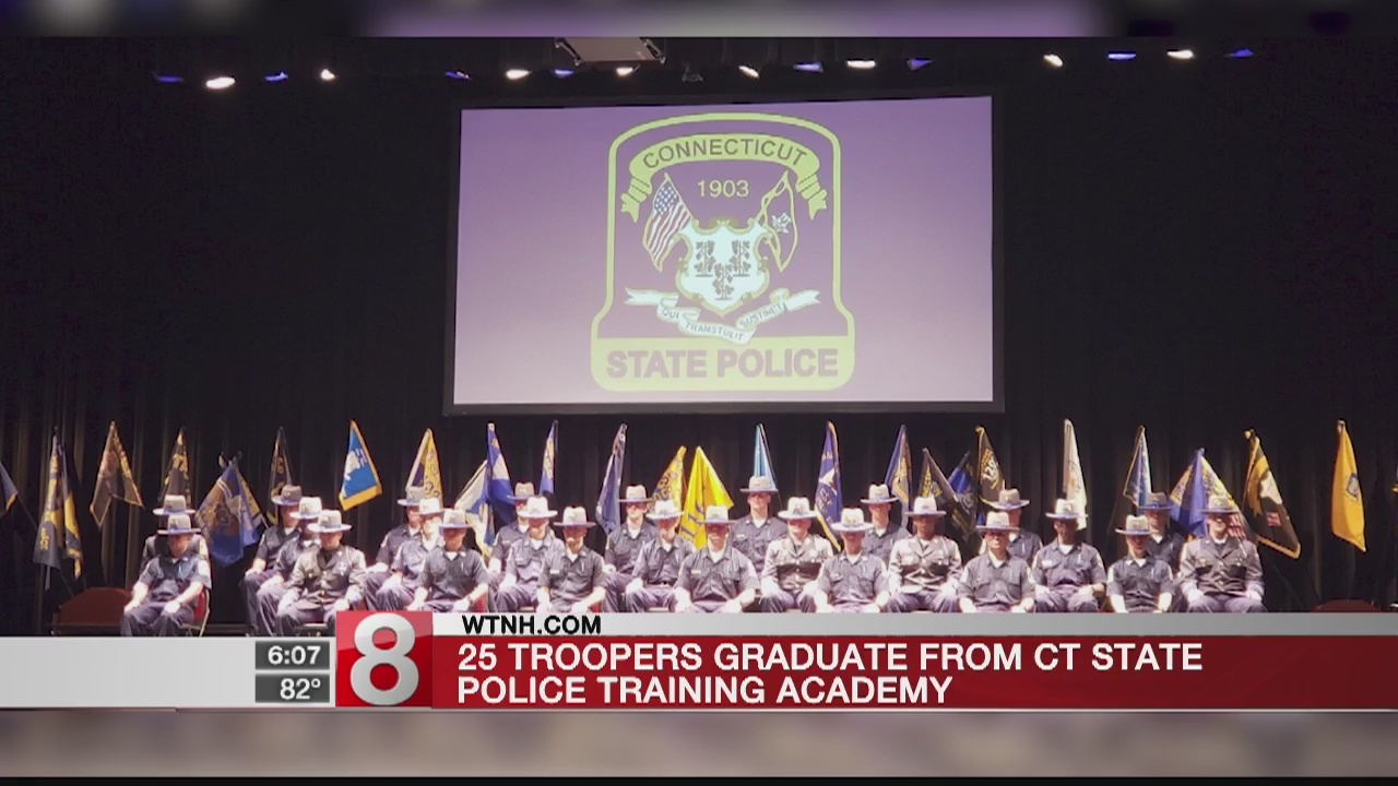 State troopers graduate from Training Academy