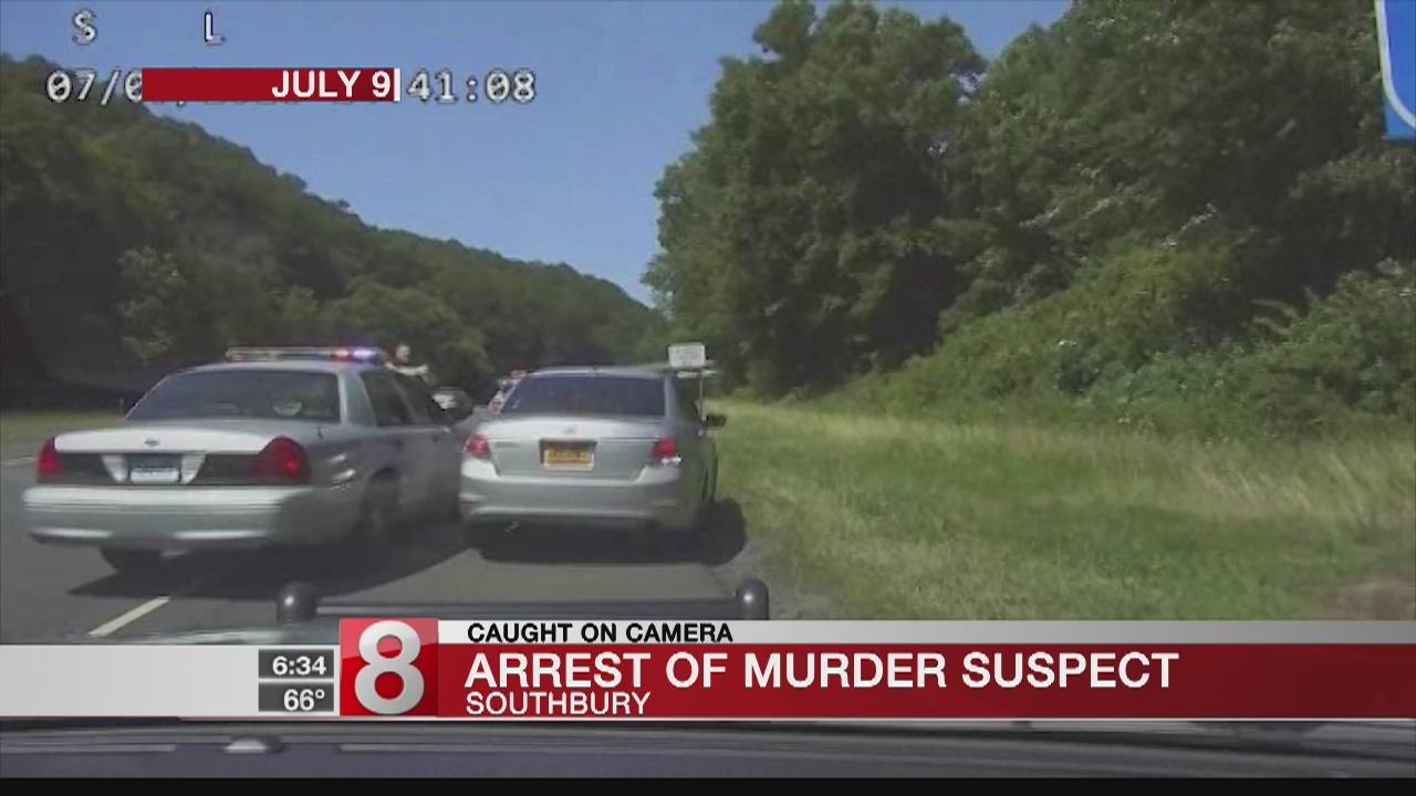 EXCLUSIVE: Dash Cam Footage Shows Southbury Arrest of Murder
