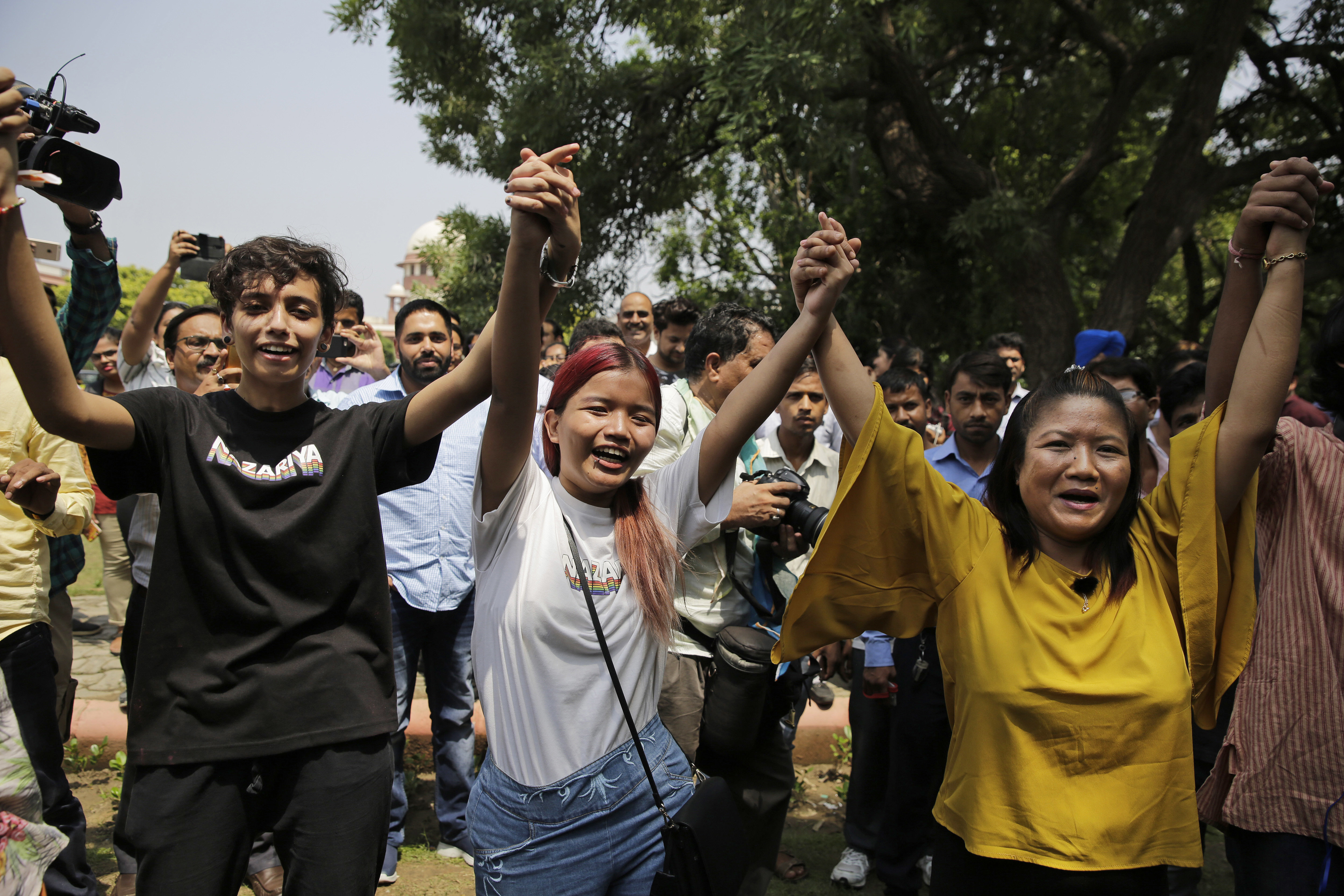 India's supreme court begins landmark hearing for the decriminalisation of gay sex