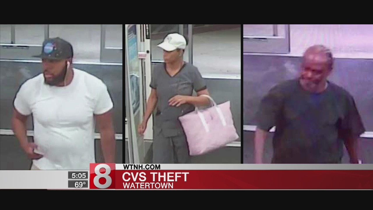 Police Searching For Suspects In Watertown CVS Theft