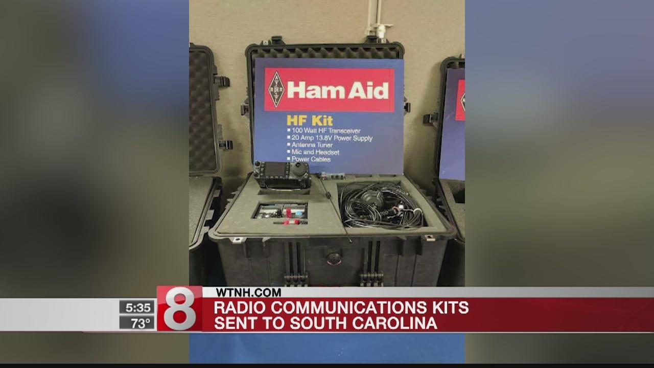 Radio communications kits sent to South Carolina