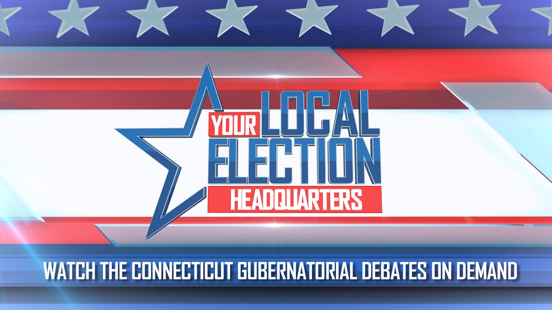 Watch the Connecticut Gubernatorial Debates On-Demand