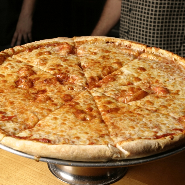 Cheese Pizza On Platter_1536135237207