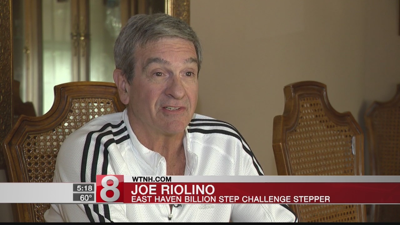 Avid cyclist making his mark in News8/Griffin Health Billion Step Challenge