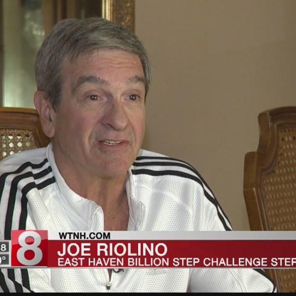 Avid cyclist making his mark in News8/Griffin Health Billion Step Challenge