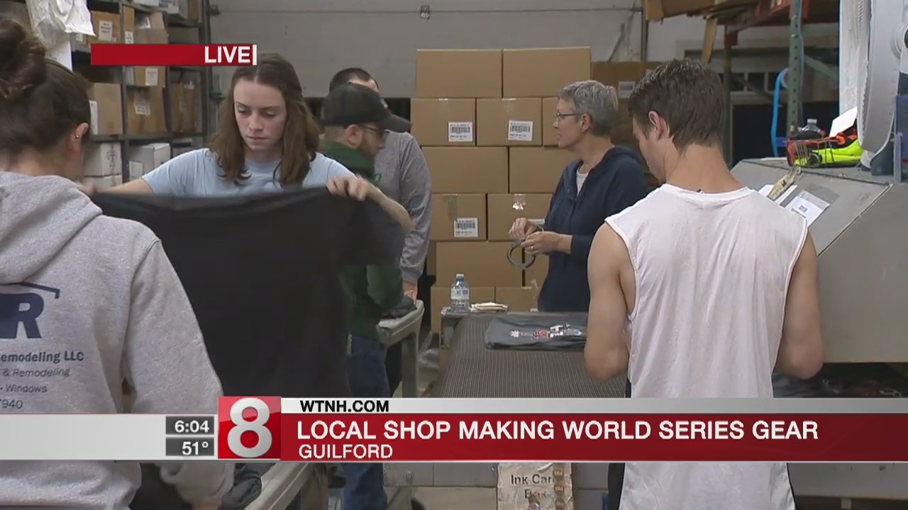 Guilford business makes Red Sox gear to celebrate World Series win