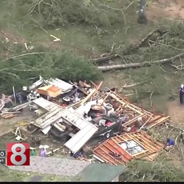 Official: Searchers find bodies in hurricane-stricken town