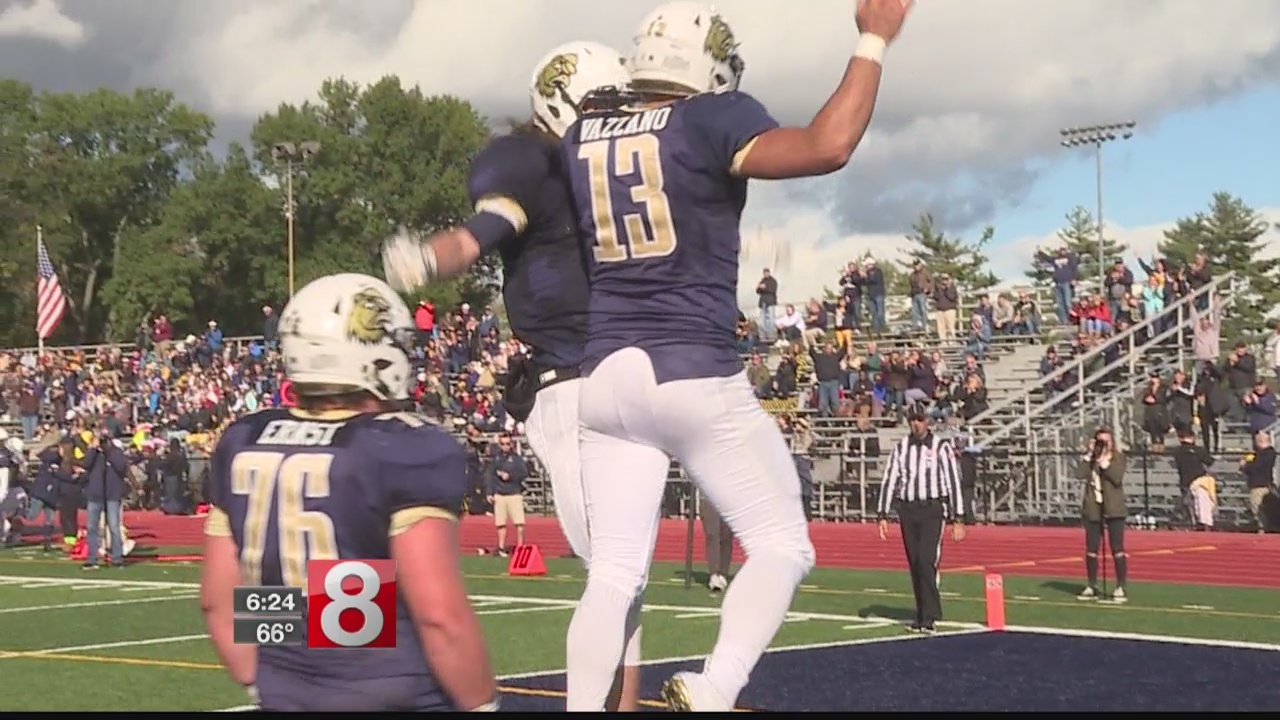 Trinity College football rallies past Tufts to improve record to 4-1