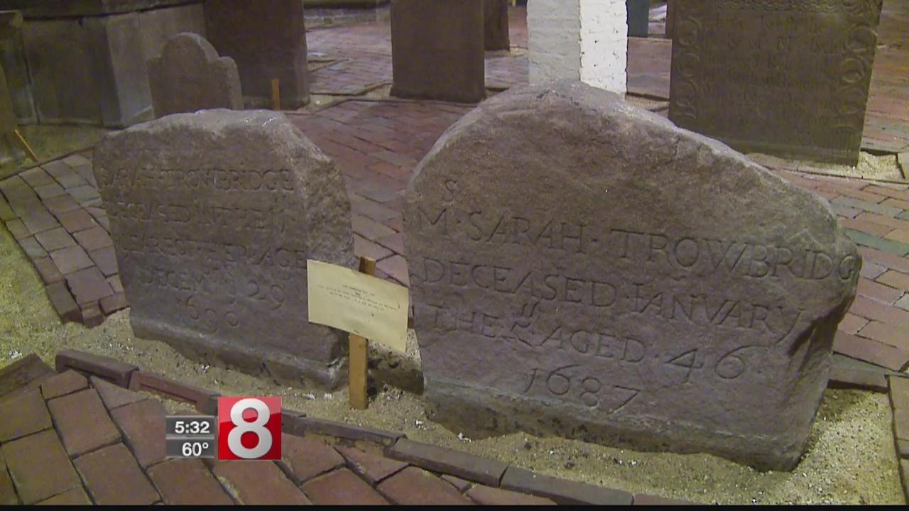 Unusual crypt lies beneath historic New Haven church