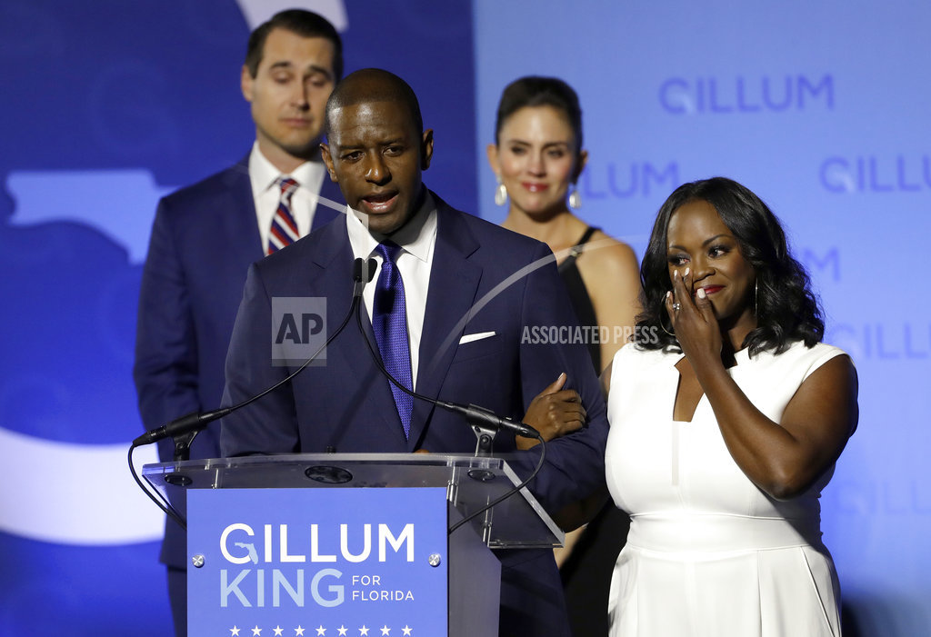 Election 2018 Governor Gillum Florida_1541743374201