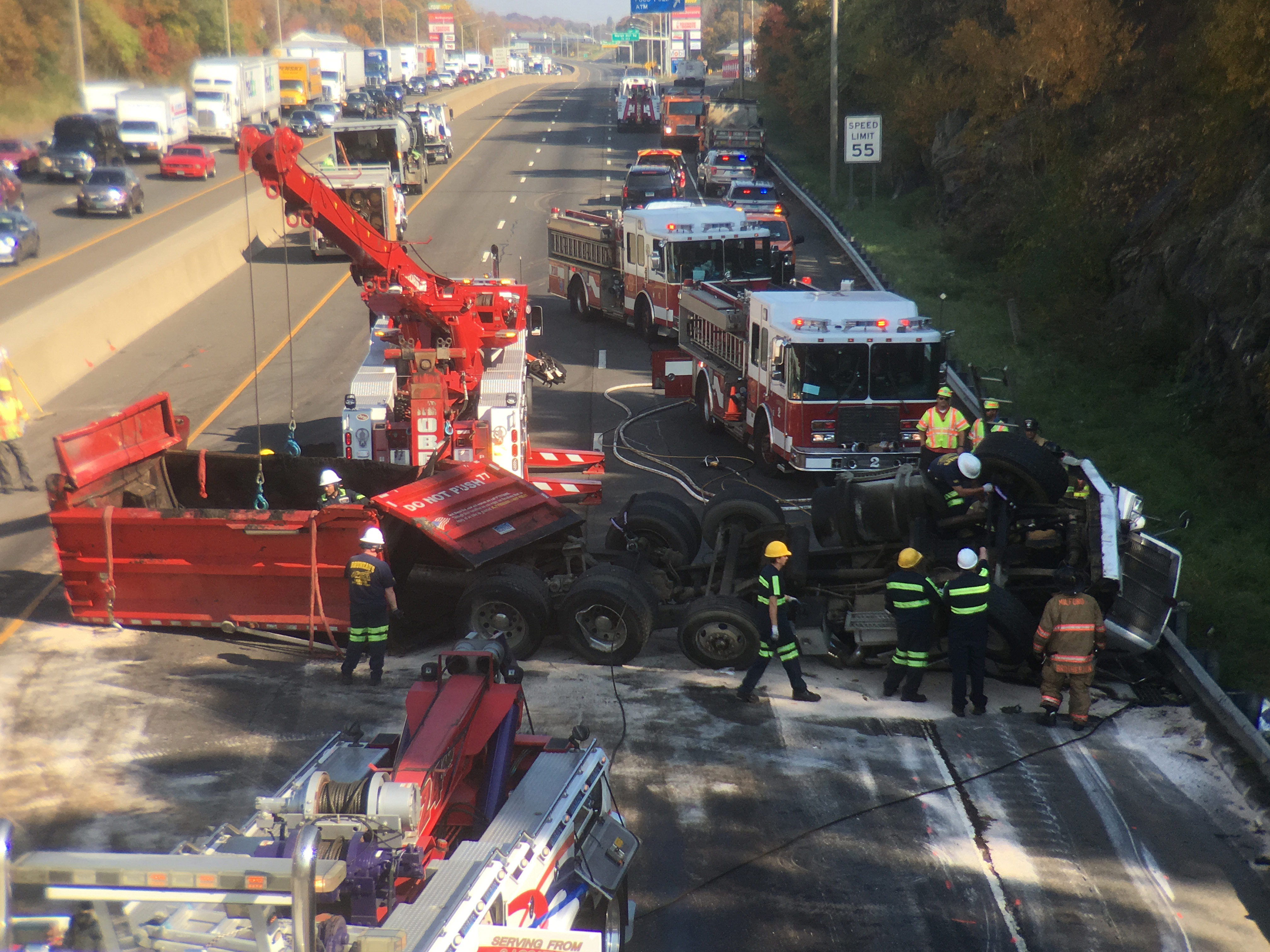 Interstate 95 northbound reopens in Milford following fatal crash